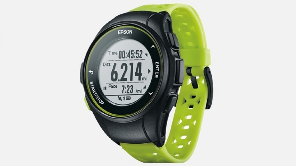 Epson ProSense running watches unveiled