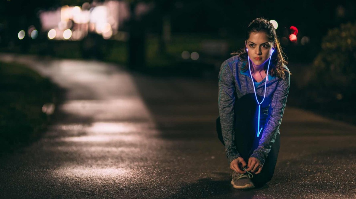 Glow headphones pulse to your music