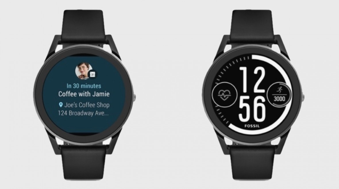 Fossil's Q Control is sporty Android Wear