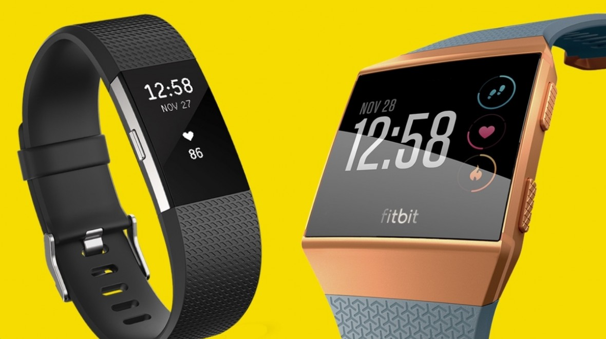 Fitbit Charge 2 v Fitbit Ionic