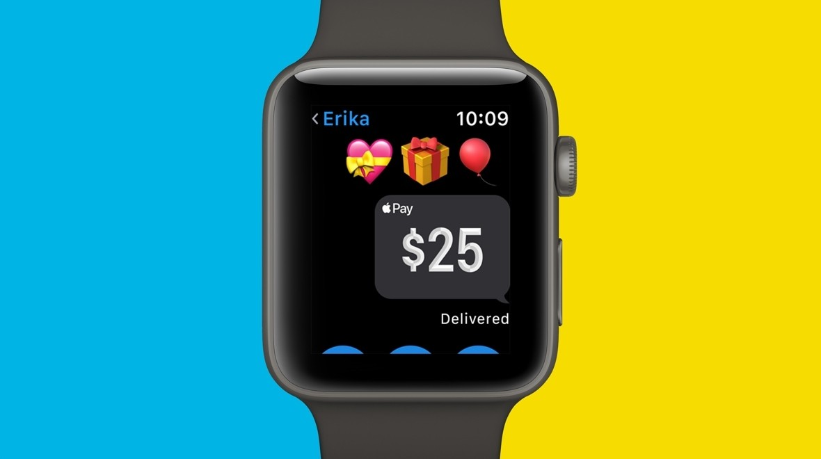Apple Pay Cash comes to Apple Watch