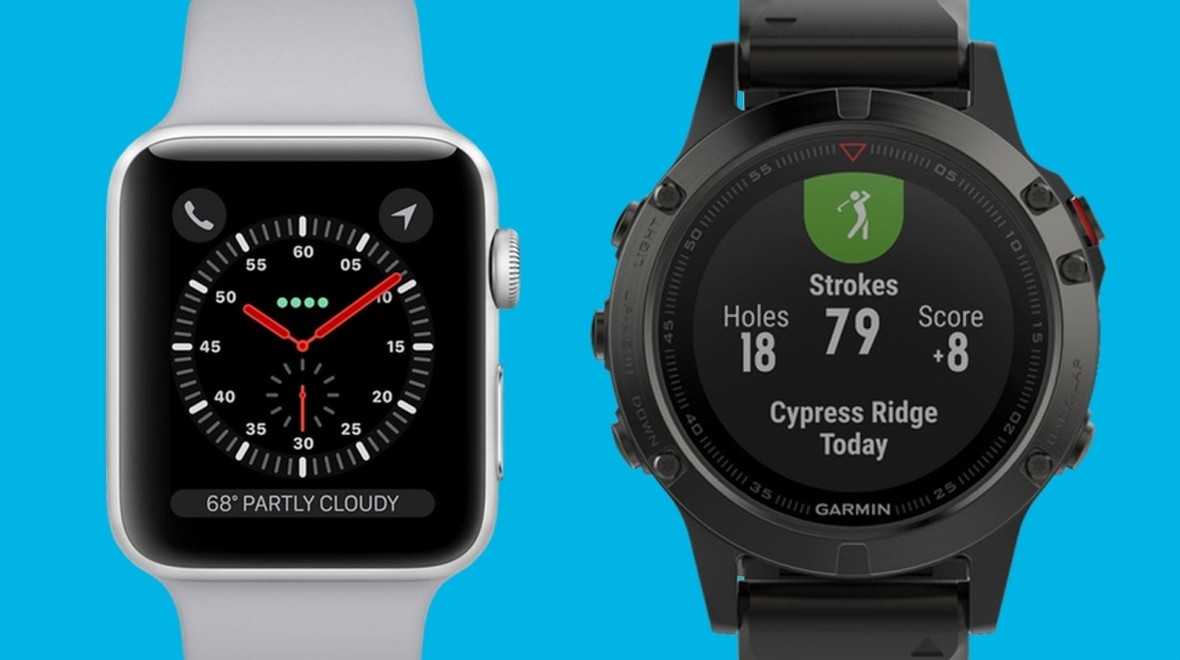 Apple Watch 3 v Garmin Fenix 5
