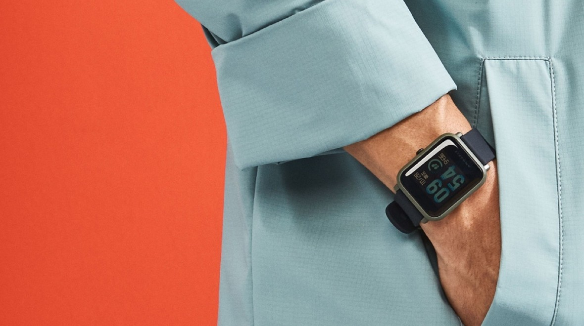 Amazfit Bip looks like an Apple Watch