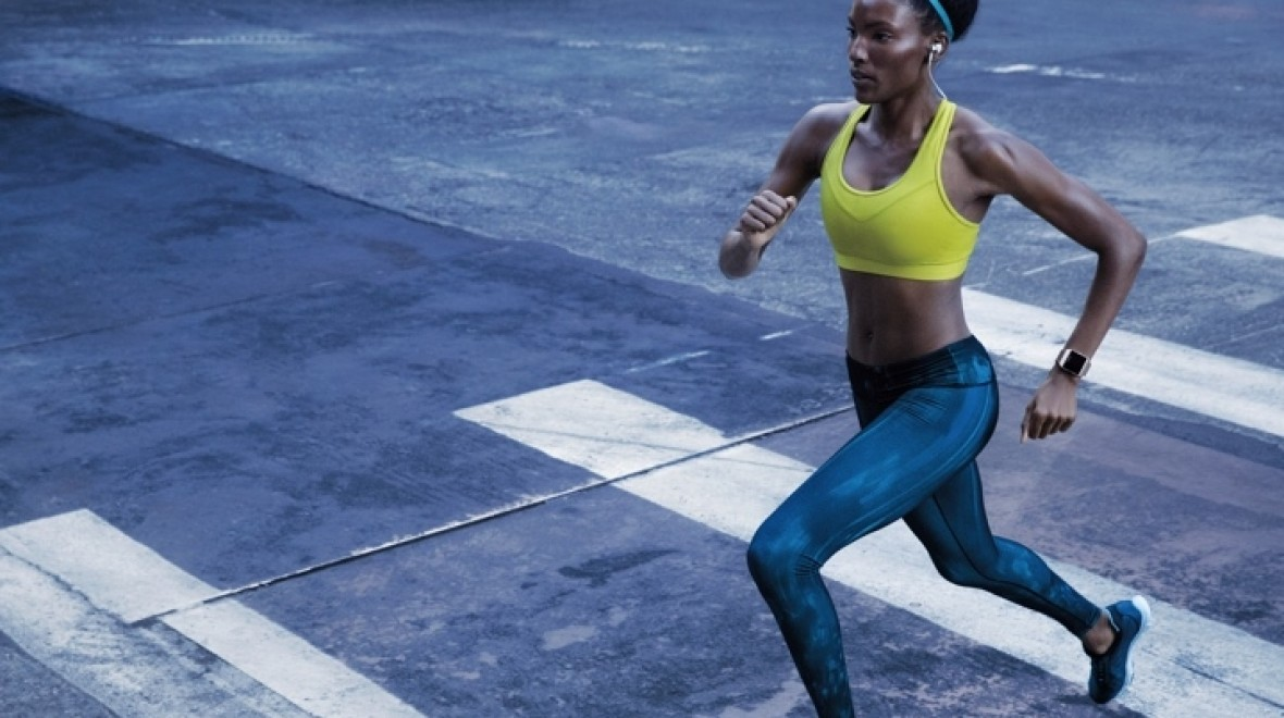 Using your watch for interval training