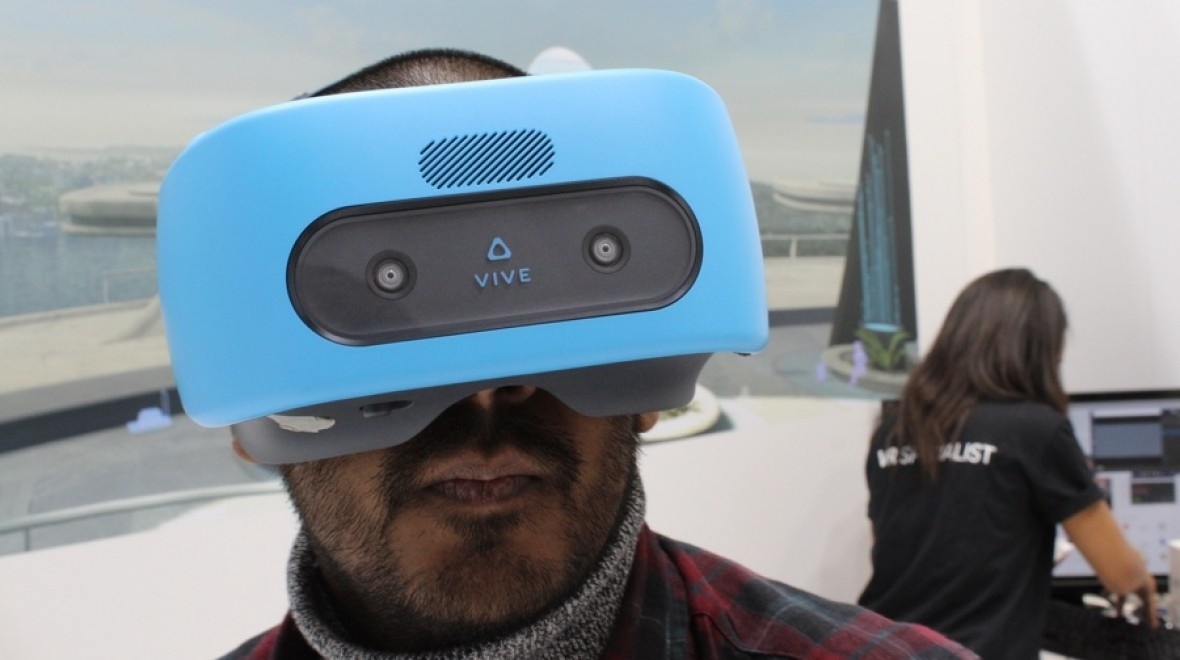 First look: HTC Vive Focus
