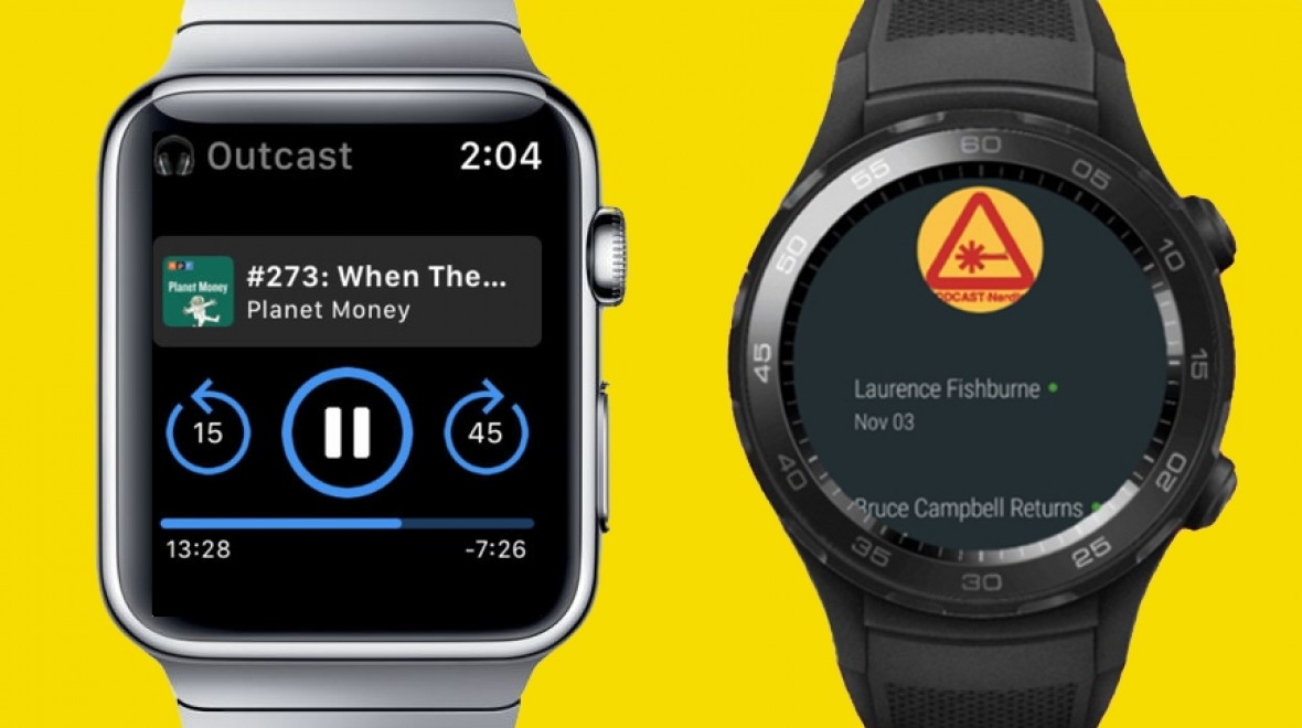 Best wearable podcast apps