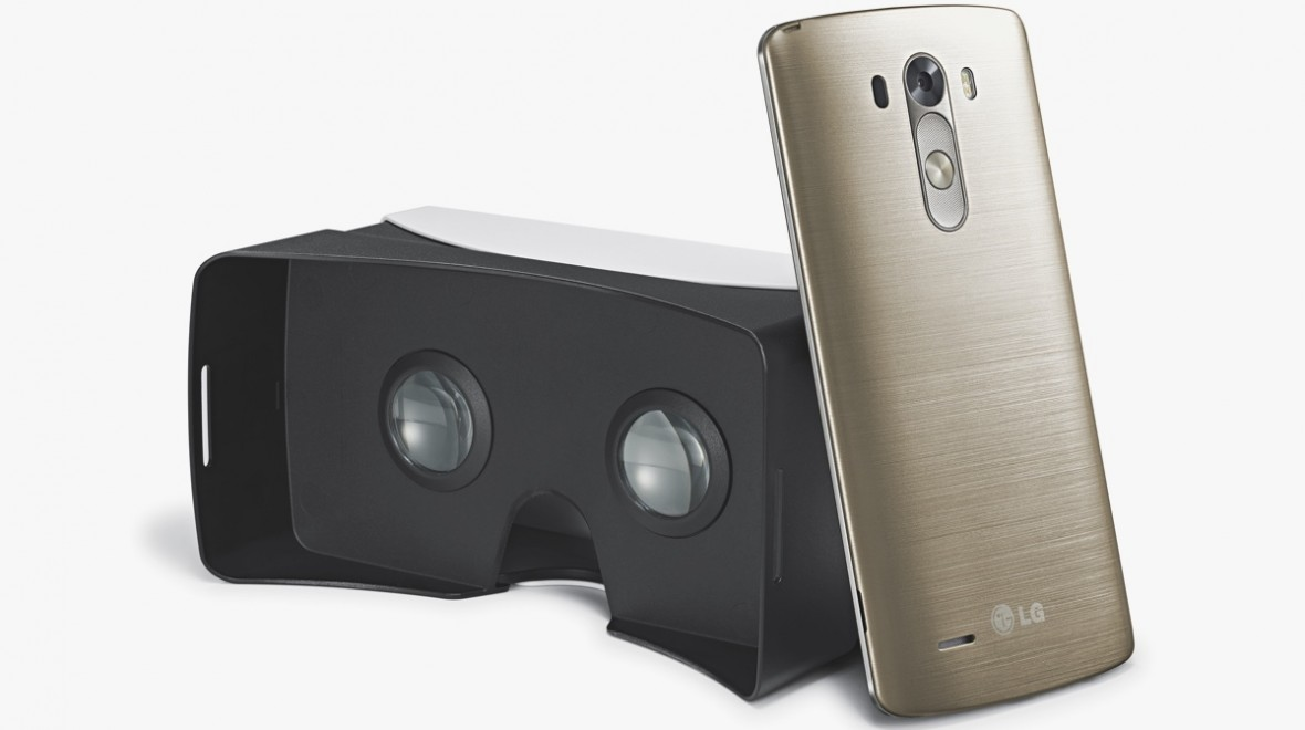 LG takes on Samsung with VR for G3