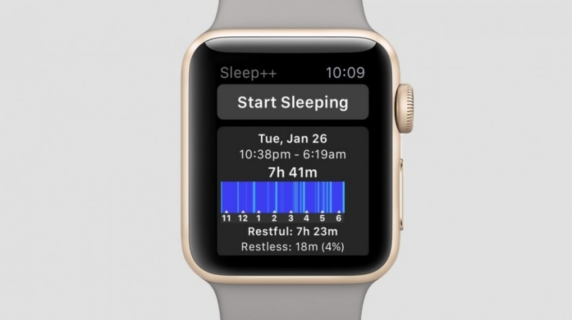 Apple Watch can detect snoring