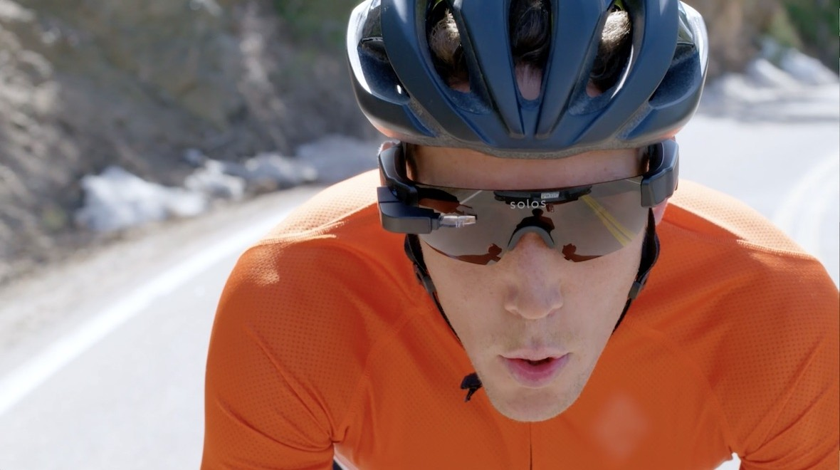 Solos smart cycling glasses now on sale