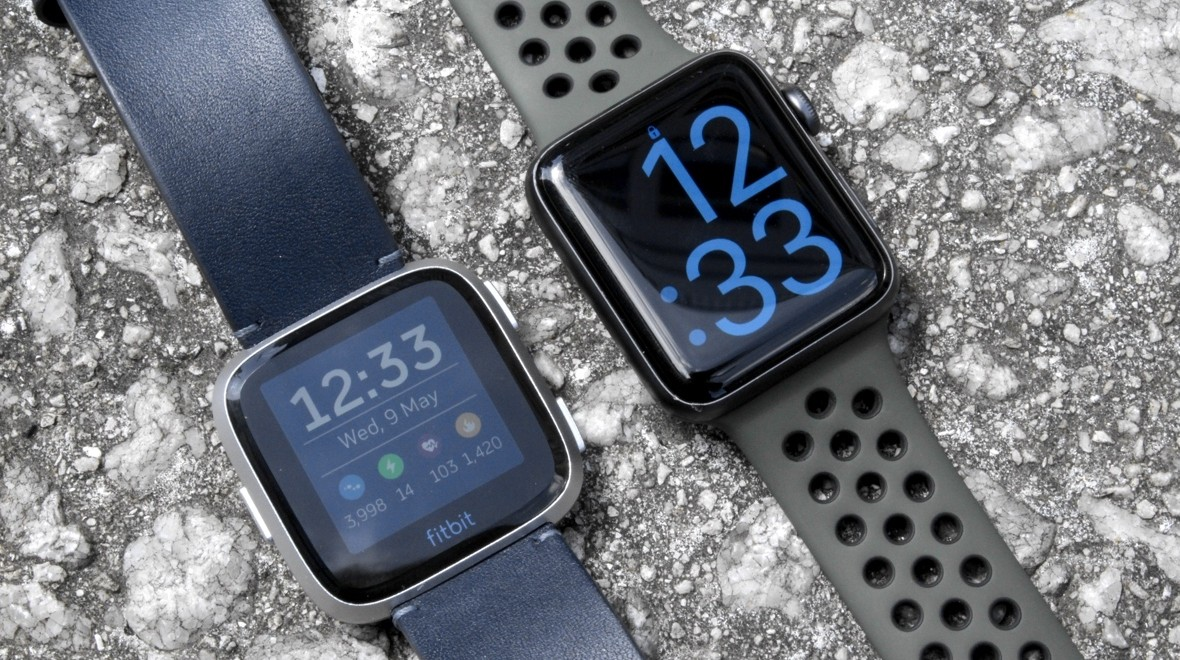 Apple Watch Series 3 V Fitbit Versa Which Stylish