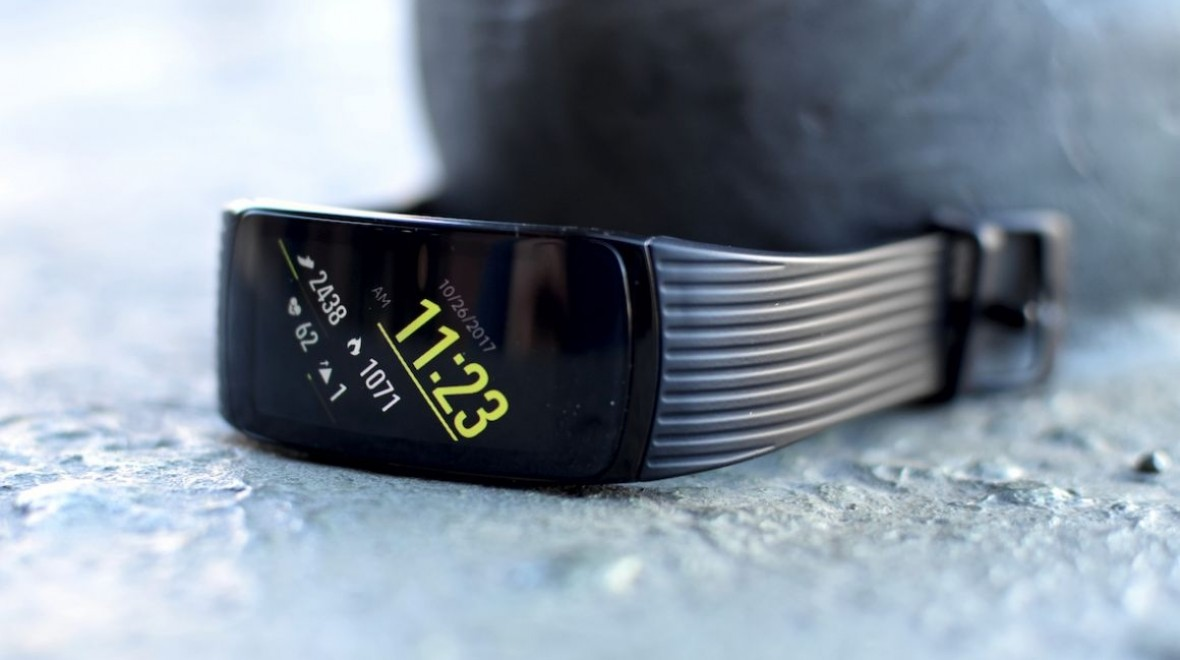Samsung Gear Fit 2 Plus name surface