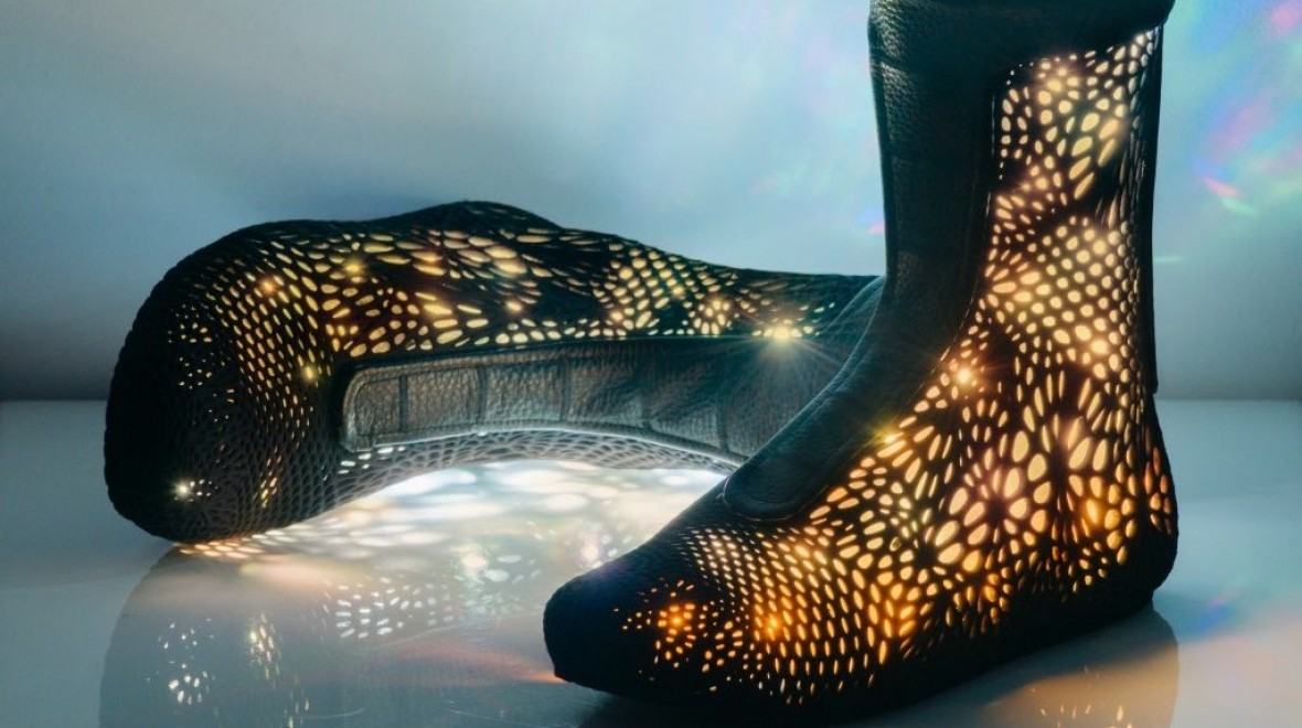 3D printed, robotic high tops revealed