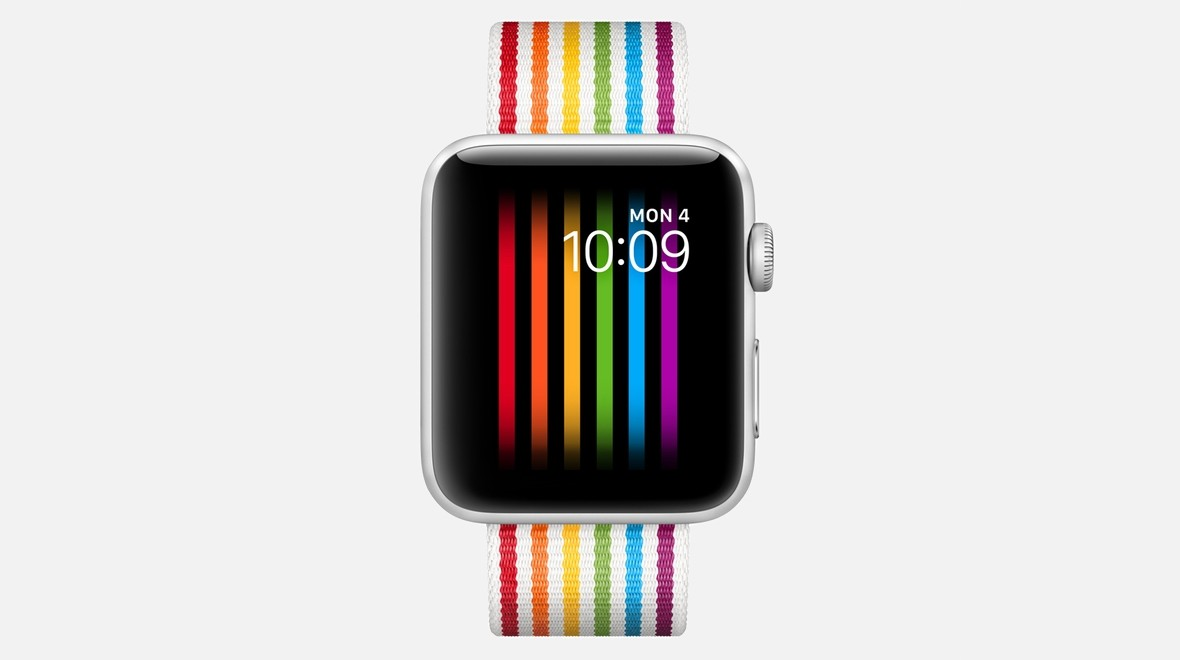 Apple launches Pride watch band and face
