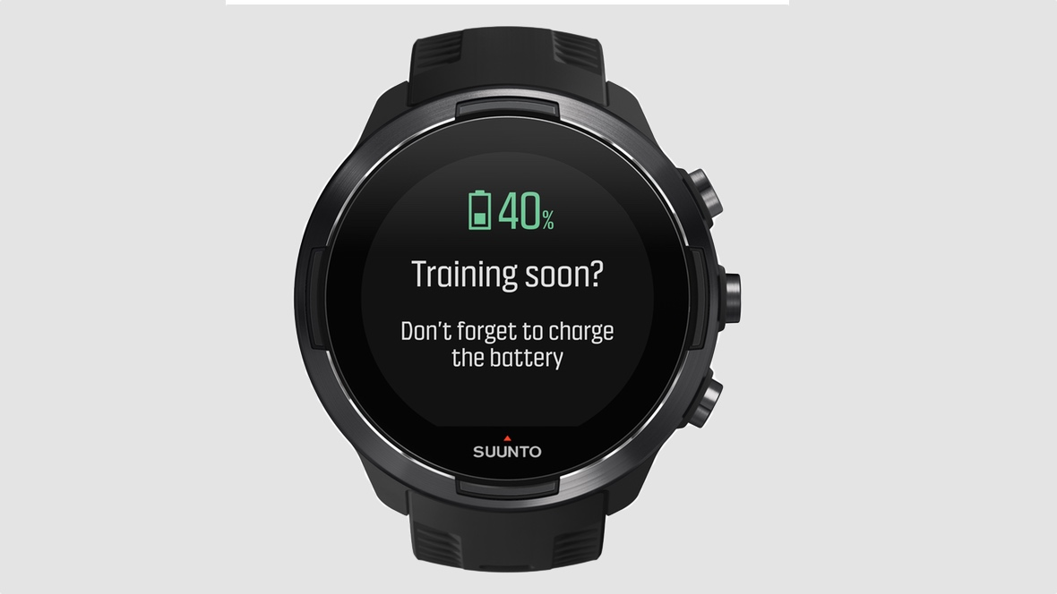 Suunto 9 makes sure you always have enough battery for ...