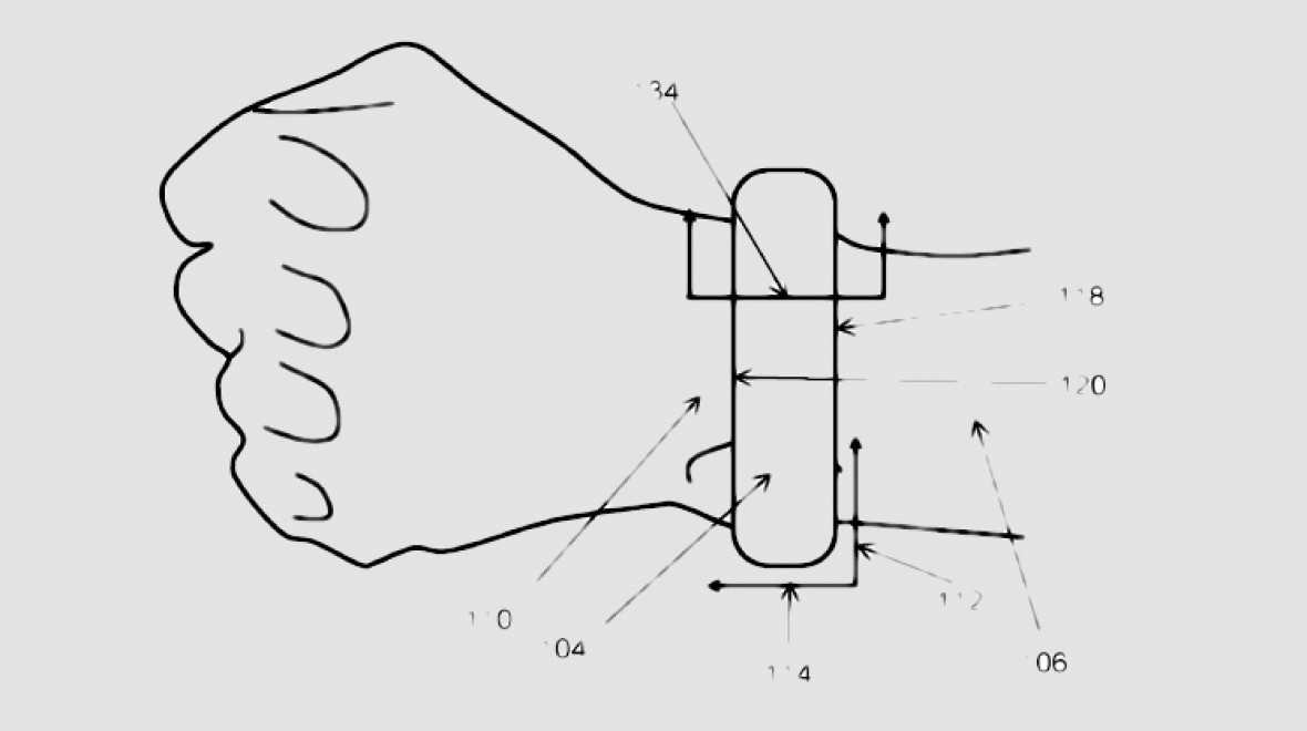 Apple blood pressure monitor patent surfaces