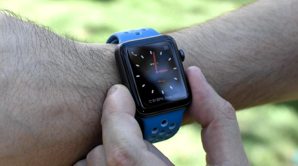 Next Apple Watch may feature haptic buttons