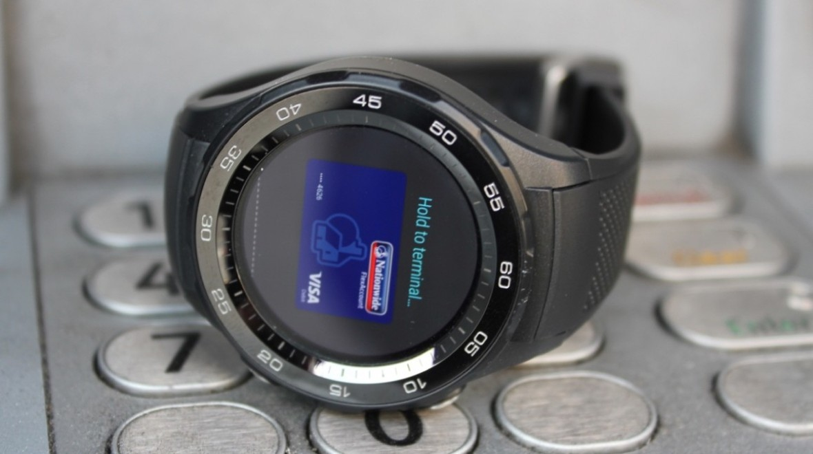 Huawei watch concept builds in earbuds