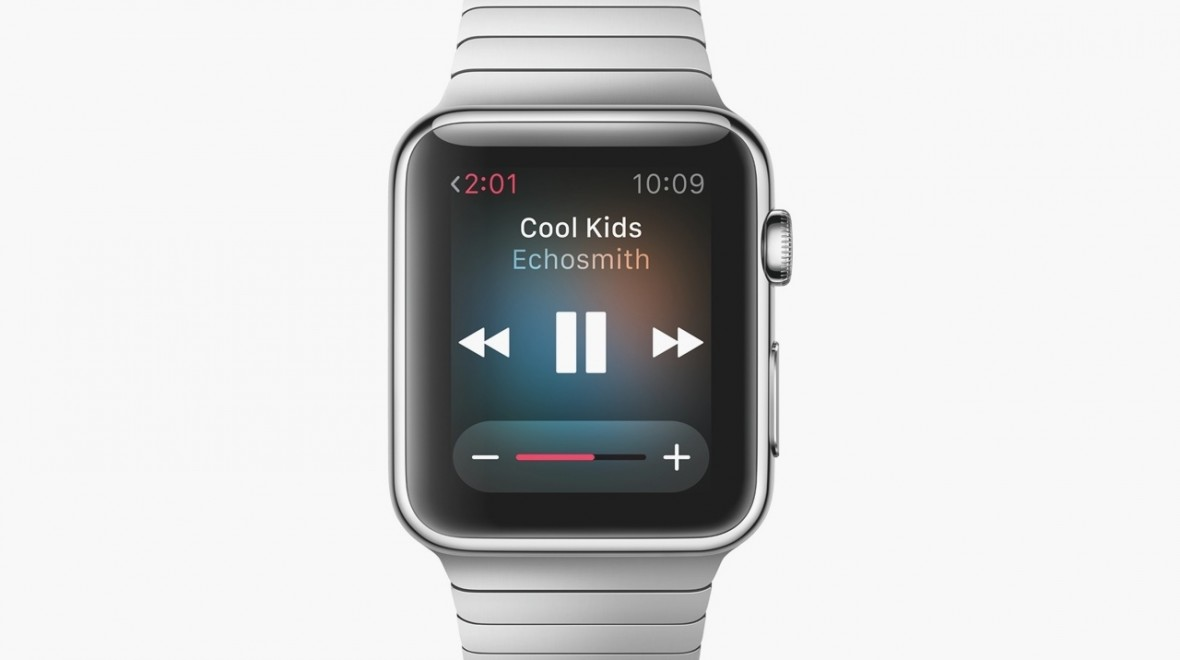Apple Watch offers music on the go