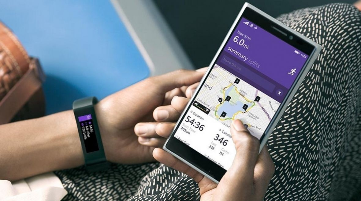 Microsoft Band on sale in the UK in April