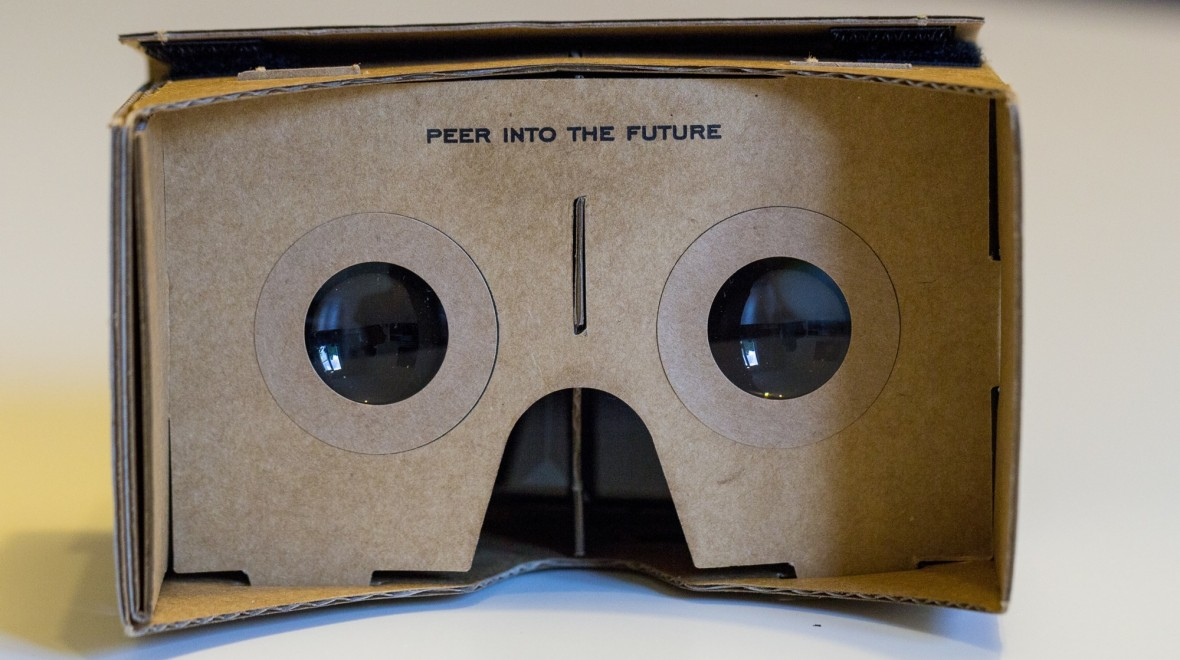Hands on with Google Cardboard