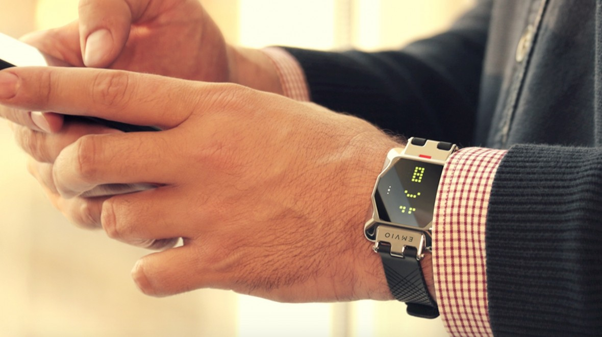 Emvio watch keeps tabs on stress