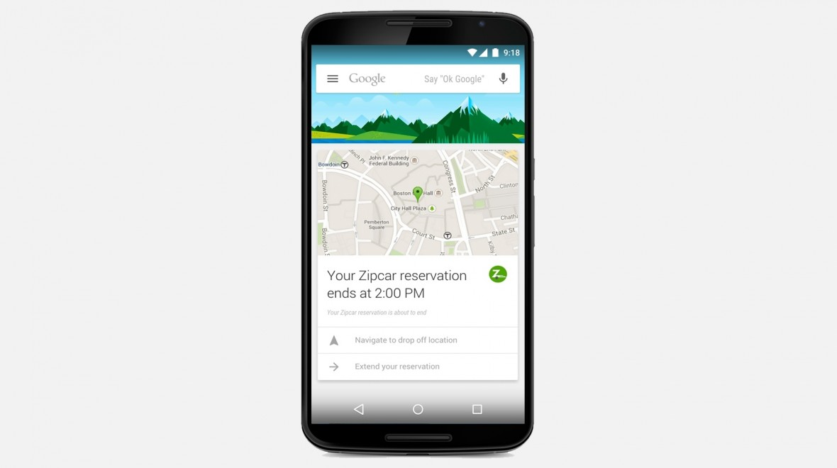 Google Now cards from 70 new apps