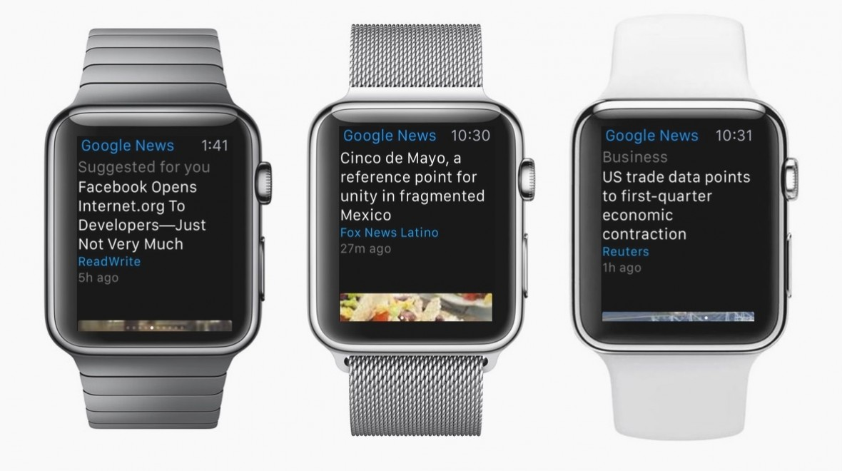 Google app lands on Apple Watch