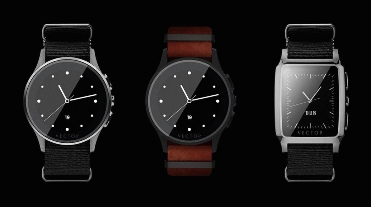 Vector smartwatches on sale in September