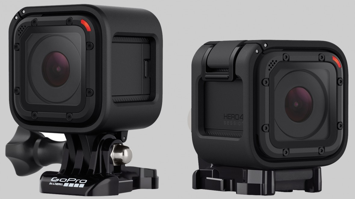 Tiny GoPro Hero4 Session launched