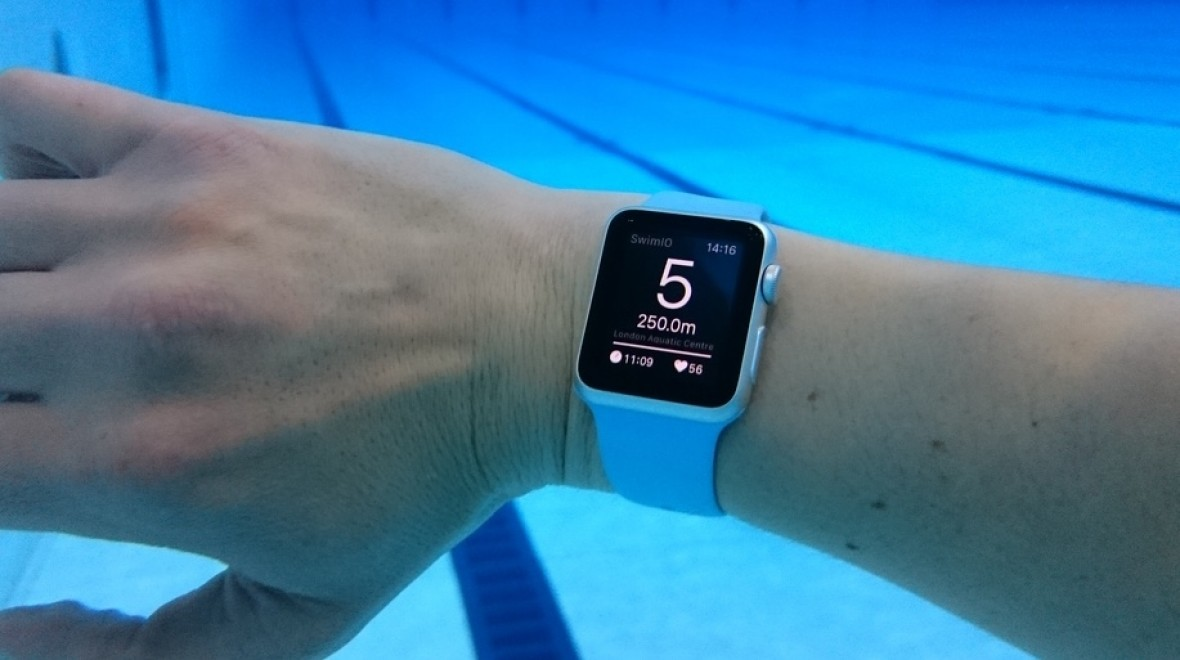 Apple Watch hits the pool