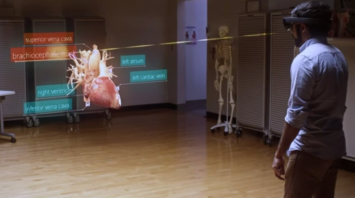 How universities could use HoloLens