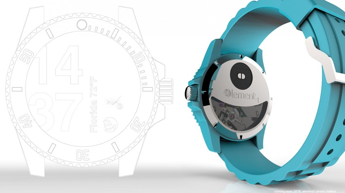 Element 1 smartwatch detailed