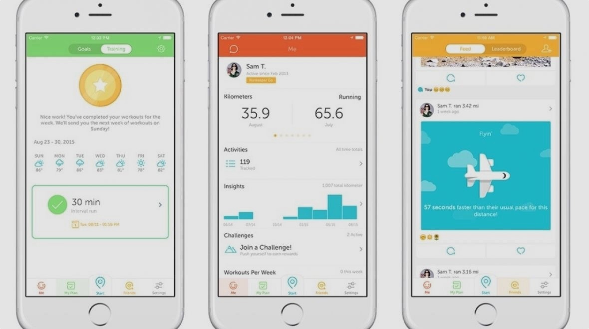 RunKeeper update matches music to your pace