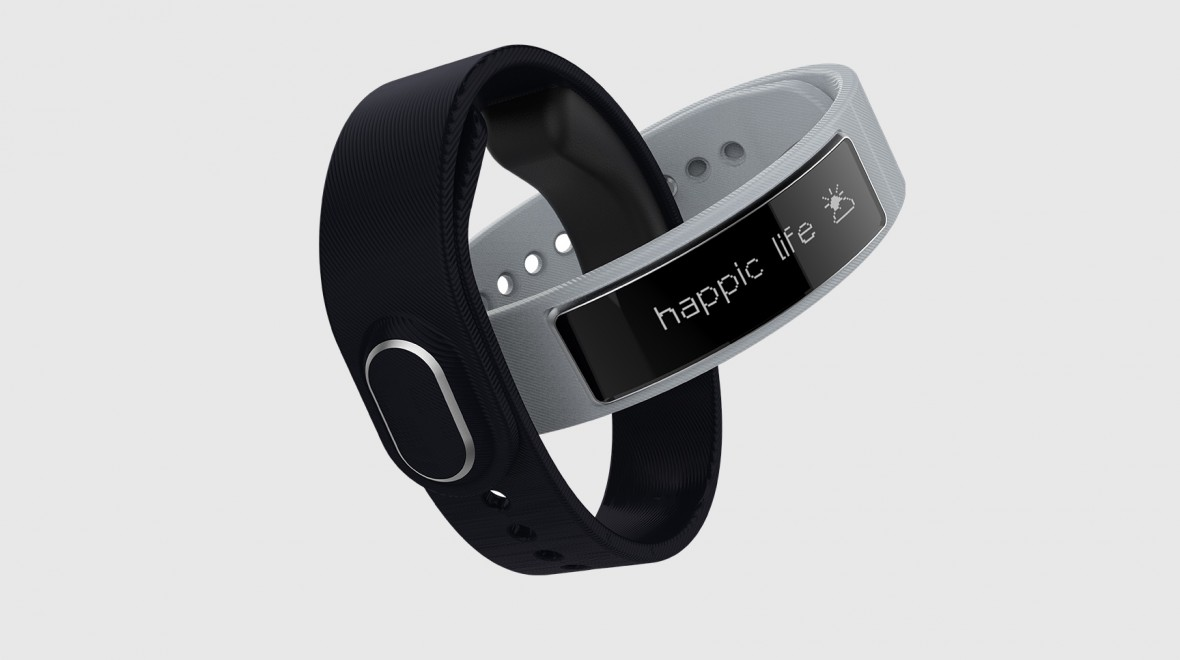 Happic smart band navigates with vibrations
