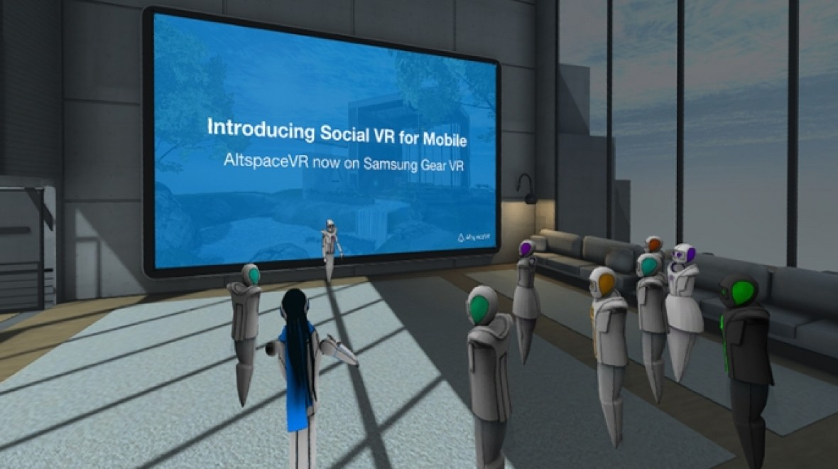 Virtual chatroom coming to Samsung Gear VR
