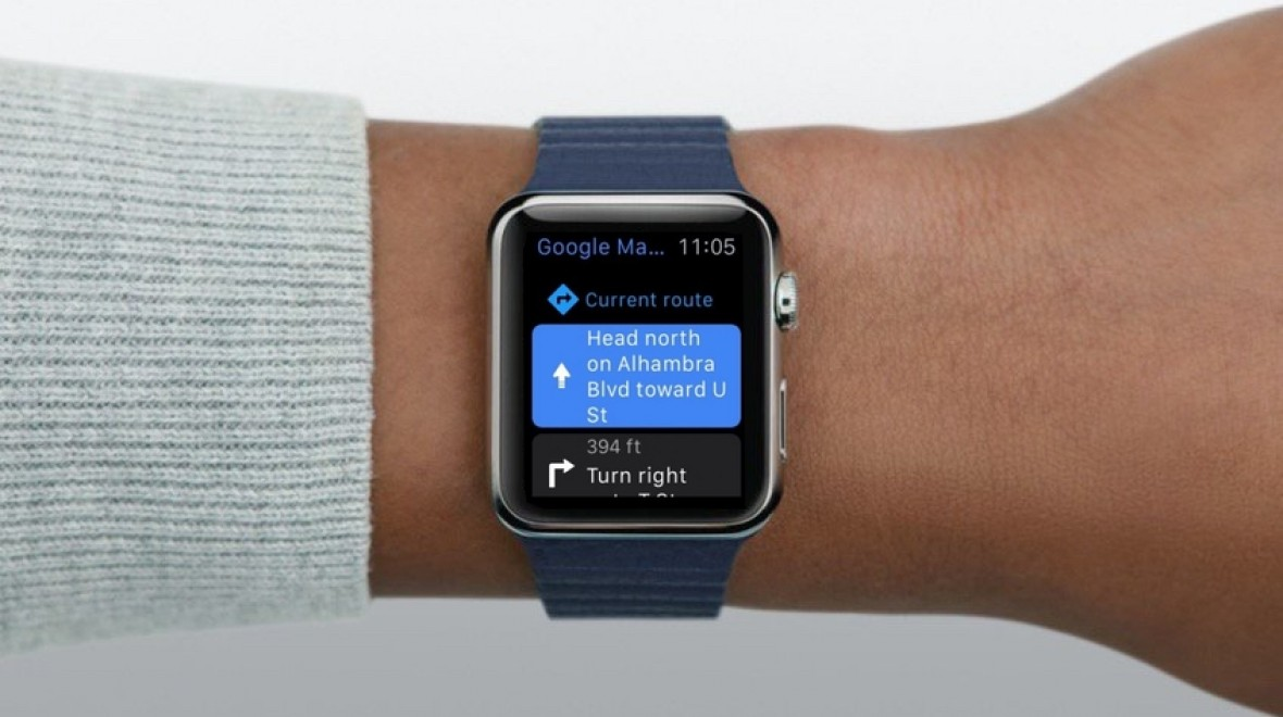 Google Maps now available on Apple Watch