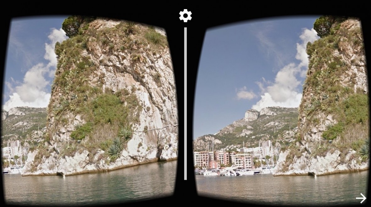 Street View now has Cardboard VR support