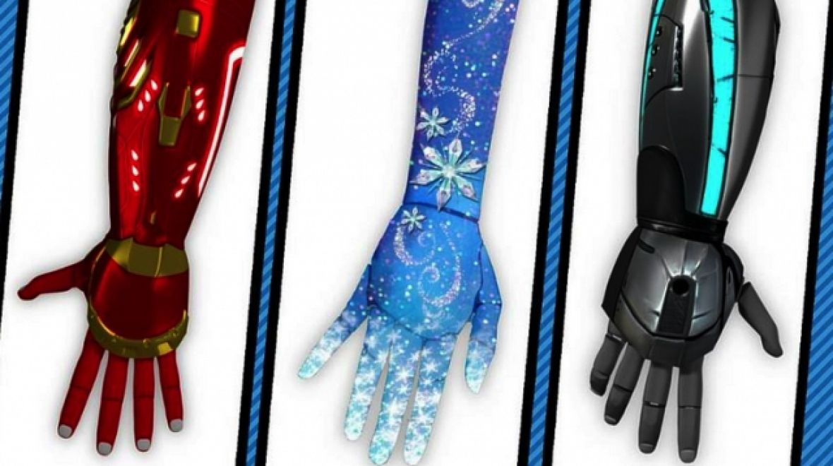 Disney's Iron Man And Elsa Help Kids Feel Cool In Prostheses
