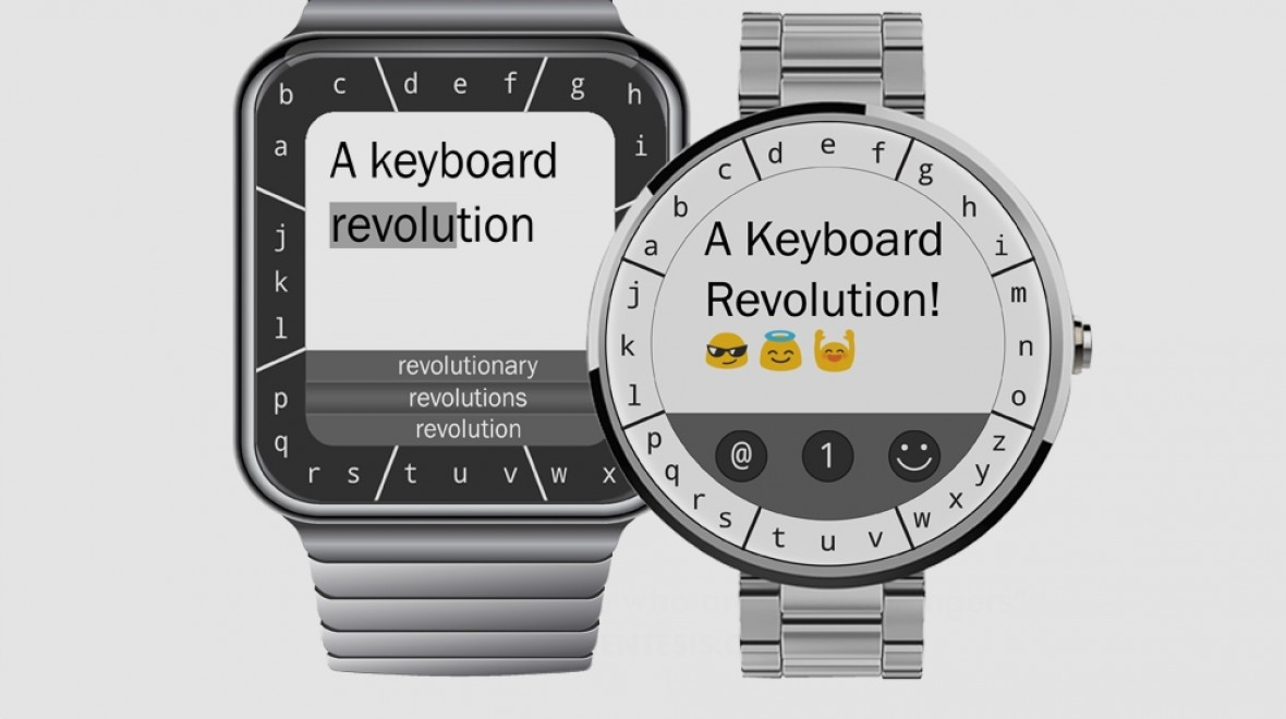 ​TouchOne makes smartwatch typing possible