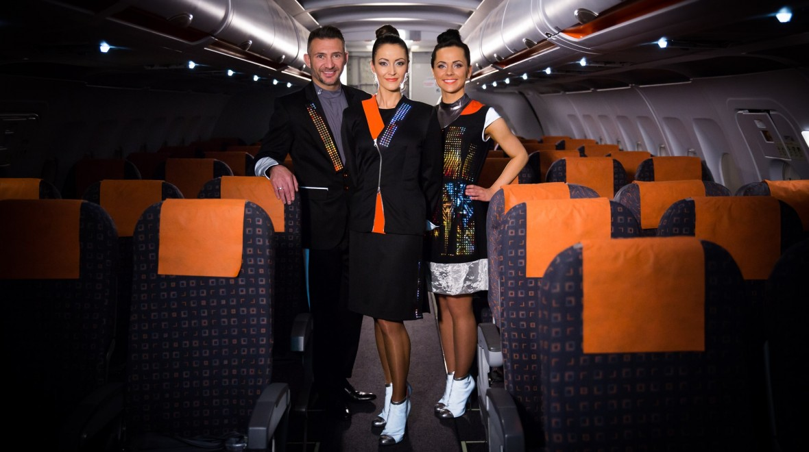 Easyjet trials Cute Circuit uniforms