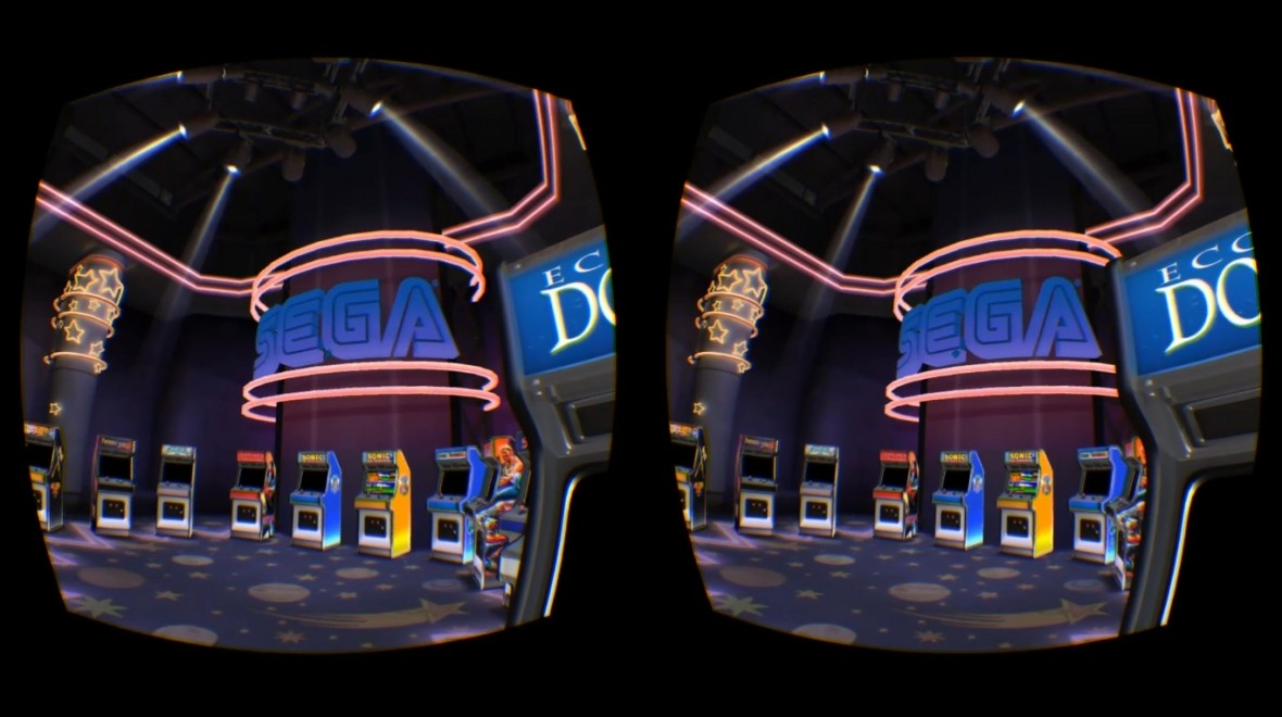 Play Pac-Man and Sonic in Oculus Arcade