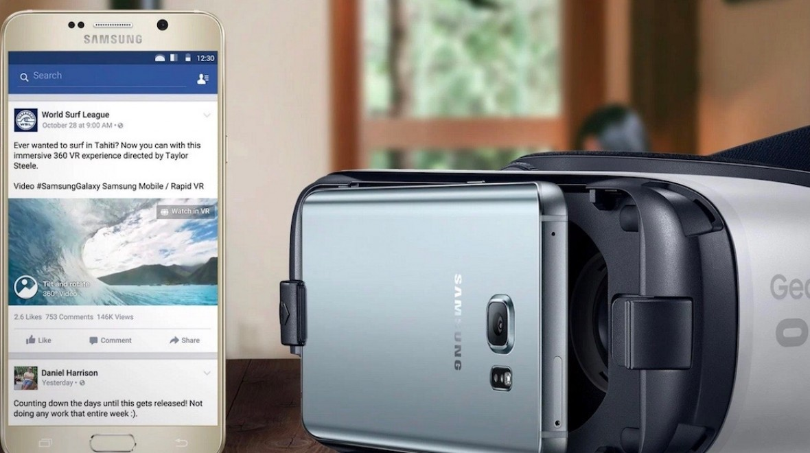 Facebook opens 360-degree video to Gear VR