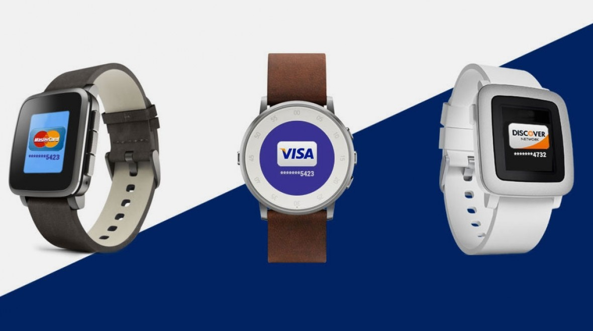 Pebble Time gets contactless payment strap