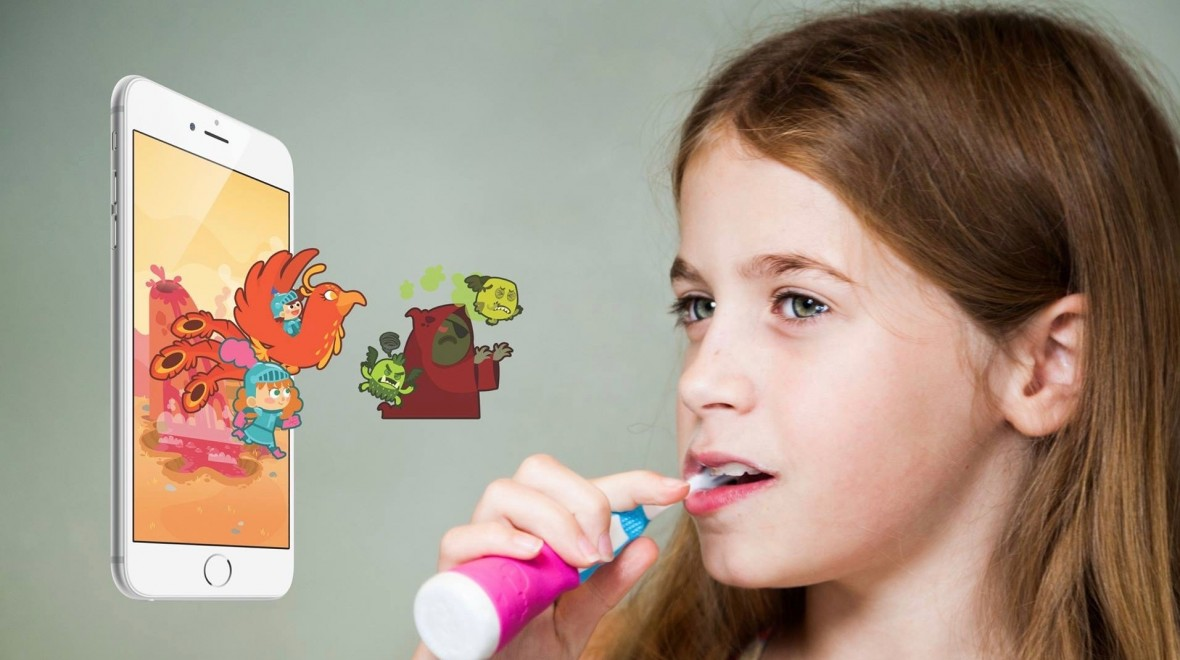 Playbrush makes brushing into a game