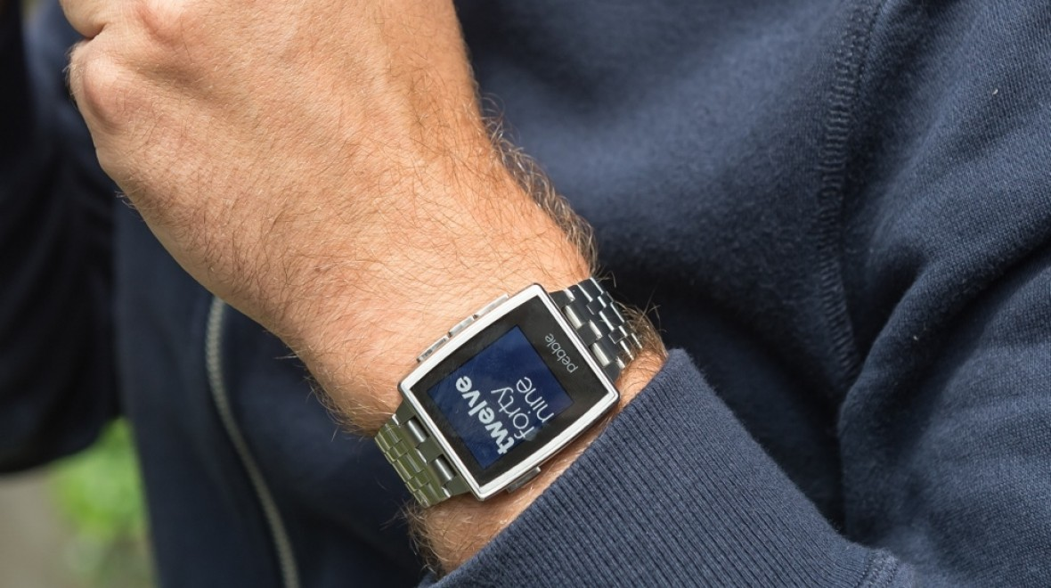 Update turns Pebble into health tracker