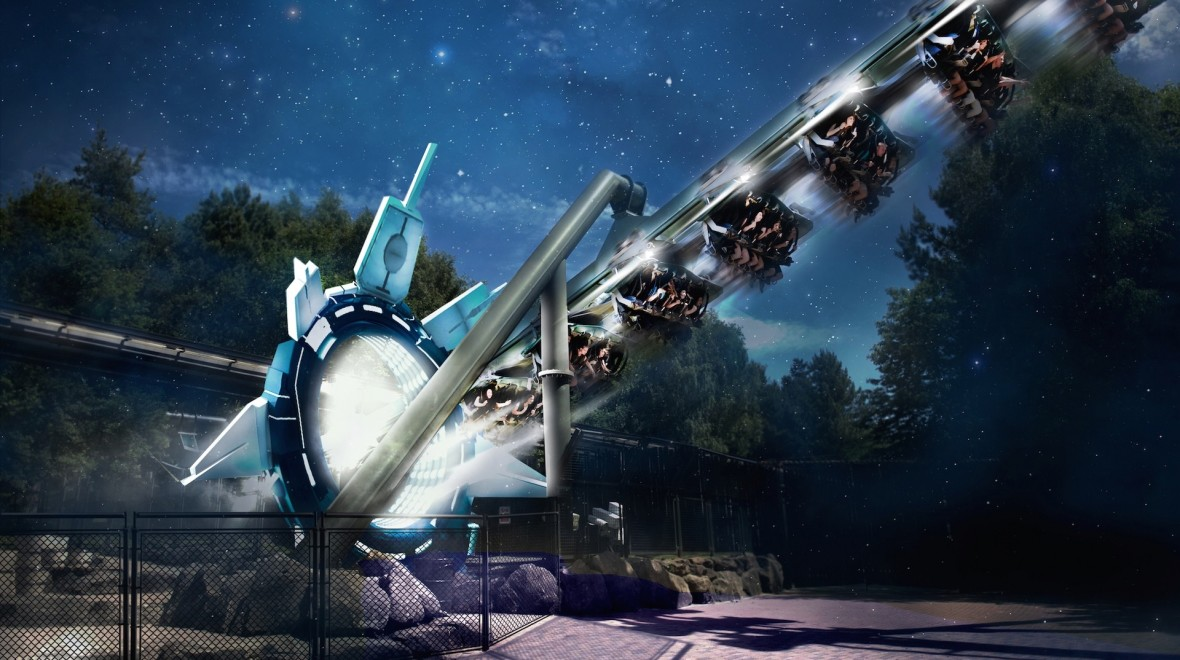 Galactica is a VR rollercoaster