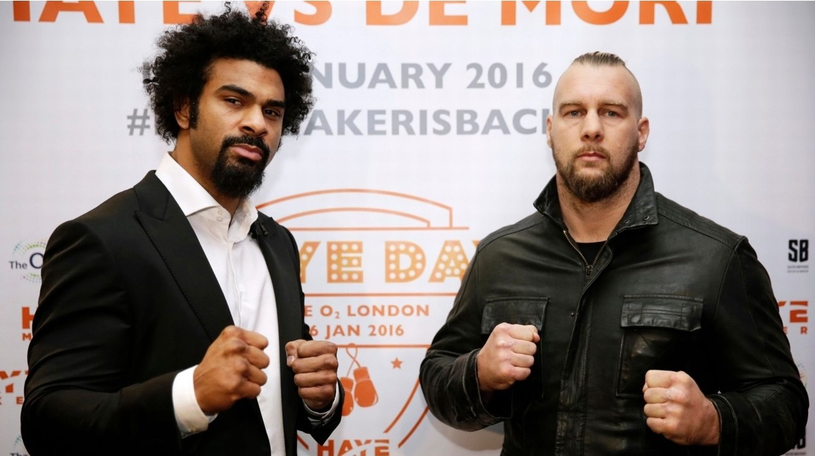 David Haye fight to be shown live in VR