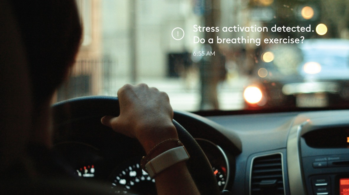 Olive band tracks your stress levels