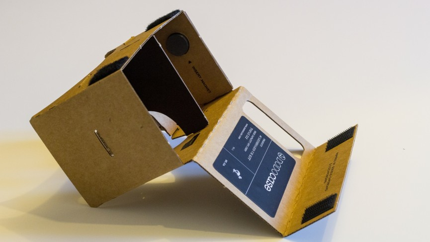 how to build a google cardboard set