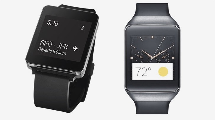 LG G Watch v Gear Live